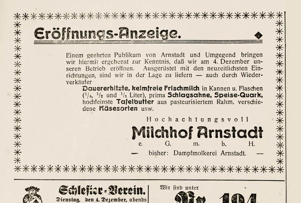 """""""… berufen, die Bevölkerung zu versorgen""""Der Architekt Martin Schwarz über den Milchhof Arnstadt"""